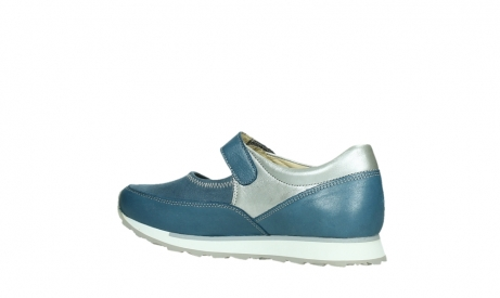 wolky mary janes 05805 e step 87860 steel blue pearl stretch leather_15