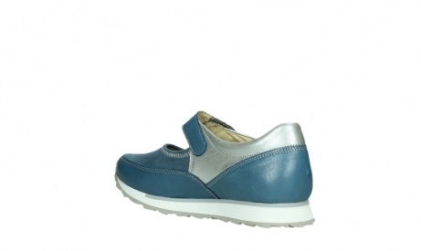 wolky mary janes 05805 e step 87860 steel blue pearl stretch leather_16