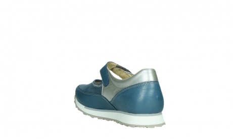 wolky mary janes 05805 e step 87860 steel blue pearl stretch leather_17