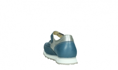 wolky mary janes 05805 e step 87860 steel blue pearl stretch leather_18