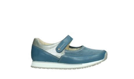 wolky mary janes 05805 e step 87860 steel blue pearl stretch leather_2