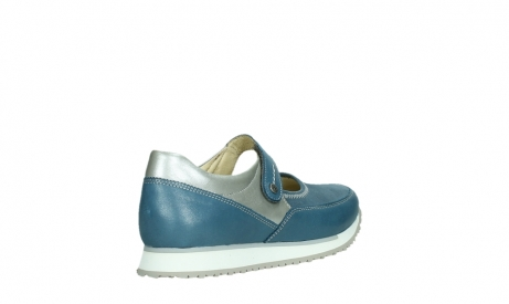 wolky mary janes 05805 e step 87860 steel blue pearl stretch leather_22