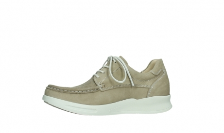 wolky lace up shoes 05901 one 10390 beige stretch nubuck_12