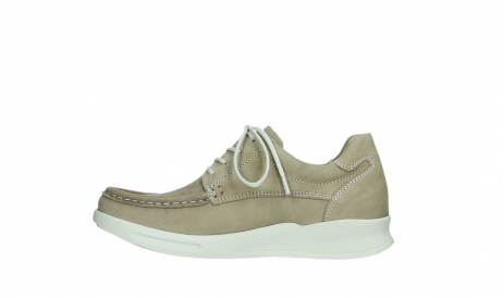 wolky lace up shoes 05901 one 10390 beige stretch nubuck_13