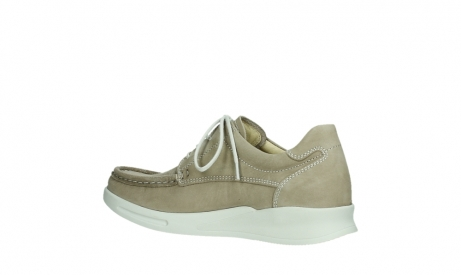 wolky lace up shoes 05901 one 10390 beige stretch nubuck_15