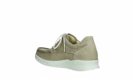 wolky lace up shoes 05901 one 10390 beige stretch nubuck_16