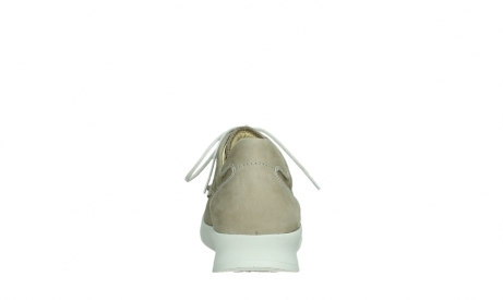 wolky lace up shoes 05901 one 10390 beige stretch nubuck_19