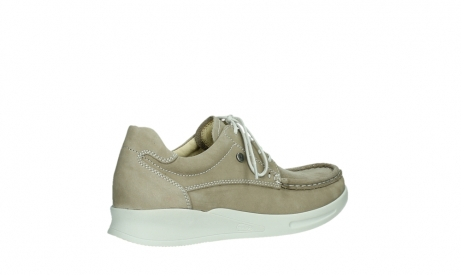 wolky lace up shoes 05901 one 10390 beige stretch nubuck_23