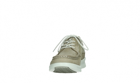 wolky lace up shoes 05901 one 10390 beige stretch nubuck_8