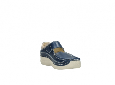 wolky mary janes 06235 roll combi 30870 blue summer leather_17