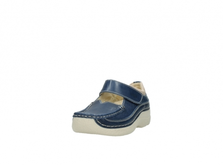wolky mary janes 06235 roll combi 30870 blue summer leather_21