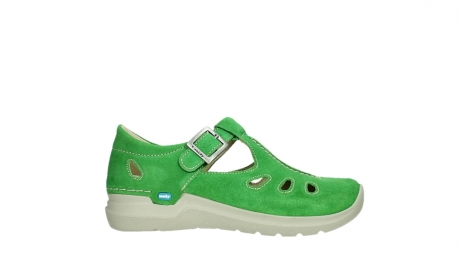 wolky mary janes 06605 smiley 40740 applegreen suede_1