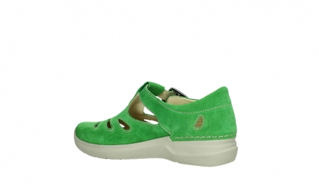 wolky mary janes 06605 smiley 40740 applegreen suede_15