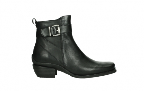 wolky ankle boots 00407 bronson 30000 black leather_1