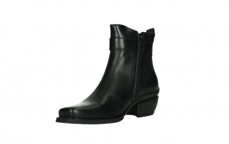 wolky ankle boots 00407 bronson 30000 black leather_10