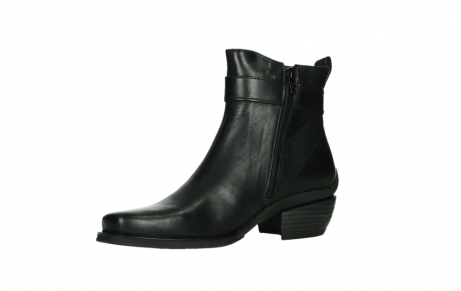 wolky ankle boots 00407 bronson 30000 black leather_11