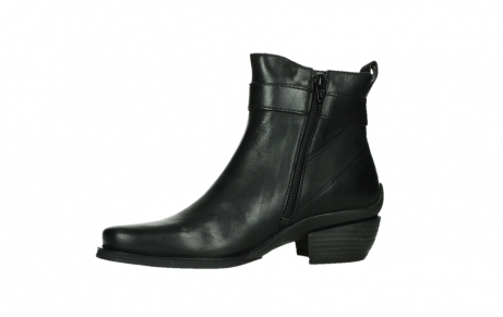 wolky ankle boots 00407 bronson 30000 black leather_12