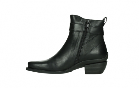wolky ankle boots 00407 bronson 30000 black leather_13