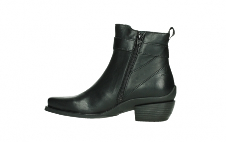 wolky ankle boots 00407 bronson 30000 black leather_14