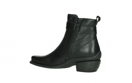 wolky ankle boots 00407 bronson 30000 black leather_15