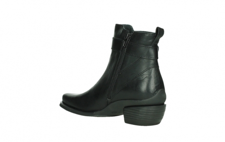 wolky ankle boots 00407 bronson 30000 black leather_16