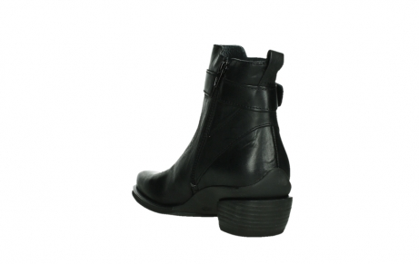 wolky ankle boots 00407 bronson 30000 black leather_17