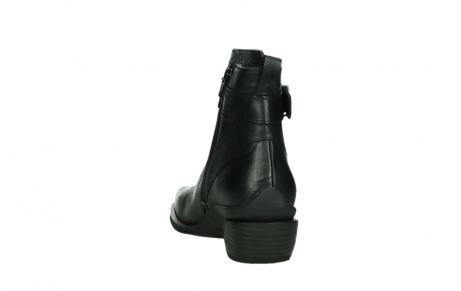 wolky ankle boots 00407 bronson 30000 black leather_18