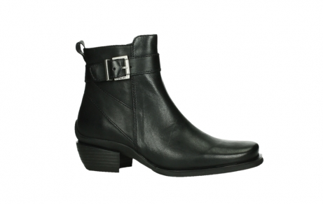 wolky ankle boots 00407 bronson 30000 black leather_2