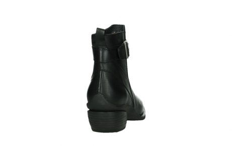 wolky ankle boots 00407 bronson 30000 black leather_20
