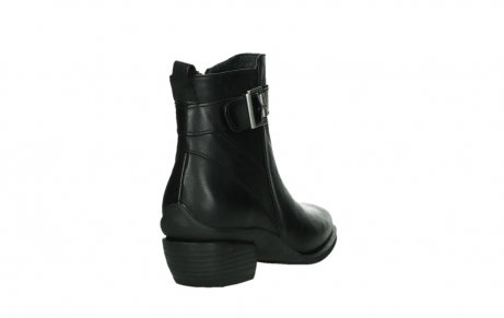 wolky ankle boots 00407 bronson 30000 black leather_21