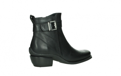 wolky ankle boots 00407 bronson 30000 black leather_23
