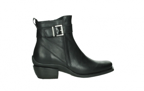 wolky ankle boots 00407 bronson 30000 black leather_24