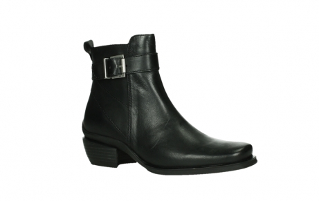 wolky ankle boots 00407 bronson 30000 black leather_3