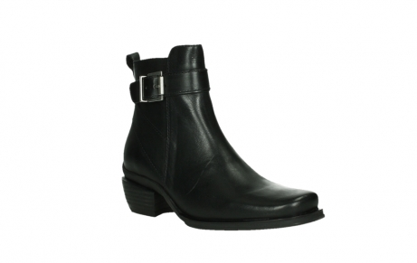 wolky ankle boots 00407 bronson 30000 black leather_4