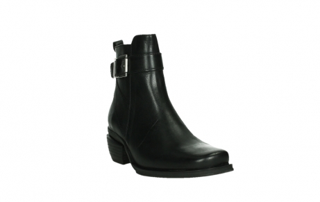 wolky ankle boots 00407 bronson 30000 black leather_5