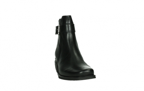wolky ankle boots 00407 bronson 30000 black leather_6