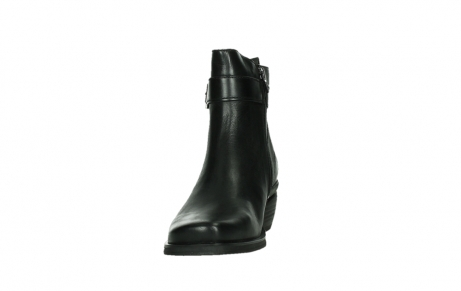 wolky ankle boots 00407 bronson 30000 black leather_8