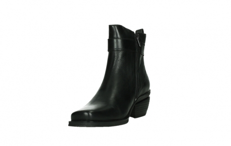 wolky ankle boots 00407 bronson 30000 black leather_9