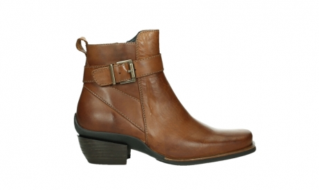 wolky ankle boots 00407 bronson 30430 cognac leather_1