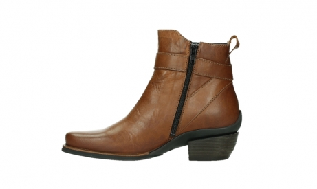 wolky ankle boots 00407 bronson 30430 cognac leather_13