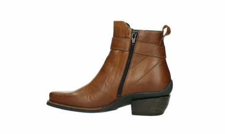 wolky ankle boots 00407 bronson 30430 cognac leather_14