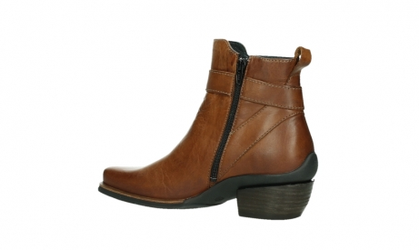 wolky ankle boots 00407 bronson 30430 cognac leather_15
