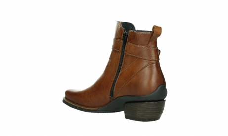 wolky ankle boots 00407 bronson 30430 cognac leather_16