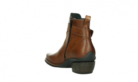 wolky ankle boots 00407 bronson 30430 cognac leather_17