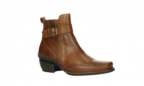 wolky ankle boots 00407 bronson 30430 cognac leather_3