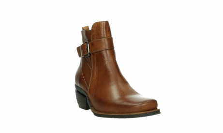wolky ankle boots 00407 bronson 30430 cognac leather_5