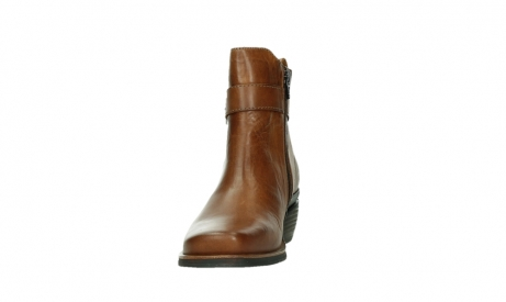 wolky ankle boots 00407 bronson 30430 cognac leather_8