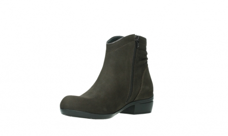 wolky ankle boots 00952 winchester 13305 dark brown nubuck_10