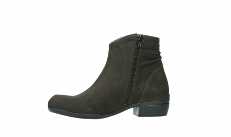 wolky ankle boots 00952 winchester 13305 dark brown nubuck_12