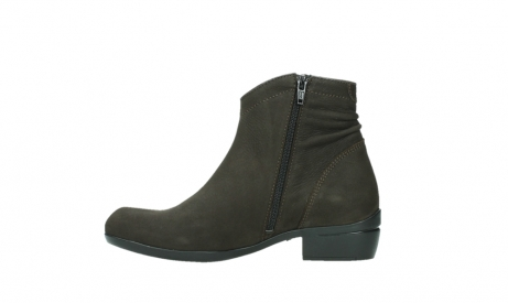 wolky ankle boots 00952 winchester 13305 dark brown nubuck_13